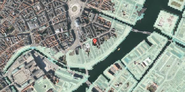 Stomflod og havvand på Tordenskjoldsgade 23, 1. th, 1055 København K