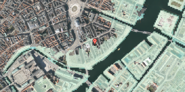 Stomflod og havvand på Tordenskjoldsgade 23, 4. th, 1055 København K