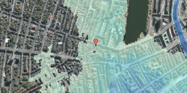 Stomflod og havvand på Tullinsgade 2, 4. , 1618 København V