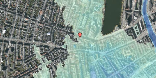 Stomflod og havvand på Tullinsgade 3, 3. tv, 1618 København V