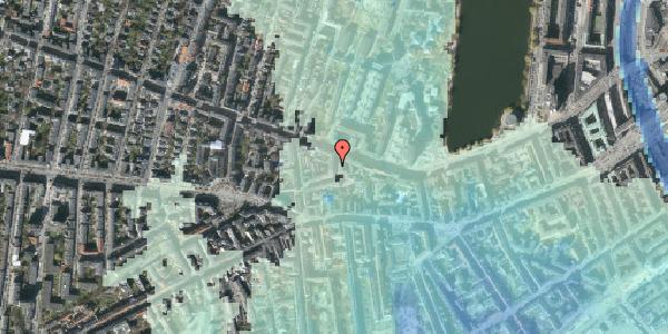 Stomflod og havvand på Tullinsgade 4, 2. tv, 1618 København V