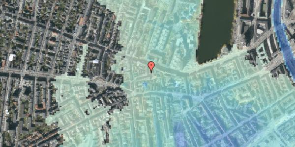 Stomflod og havvand på Tullinsgade 6, 1. th, 1618 København V