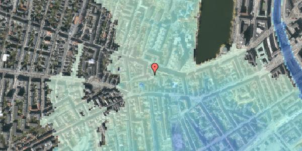 Stomflod og havvand på Tullinsgade 7, 2. tv, 1618 København V