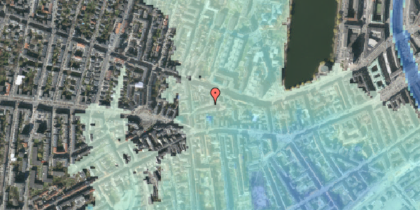 Stomflod og havvand på Tullinsgade 8, kl. th, 1618 København V