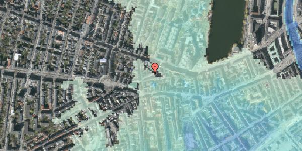 Stomflod og havvand på Tullinsgade 10, kl. th, 1618 København V