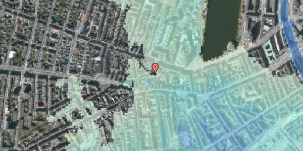 Stomflod og havvand på Tullinsgade 21, 3. tv, 1618 København V