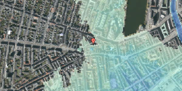Stomflod og havvand på Tullinsgade 23, st. th, 1618 København V