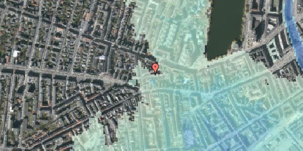 Stomflod og havvand på Tullinsgade 23, st. tv, 1618 København V