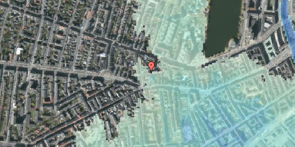 Stomflod og havvand på Tullinsgade 25, st. tv, 1618 København V