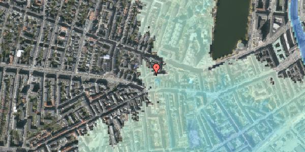 Stomflod og havvand på Tullinsgade 25, 3. th, 1618 København V