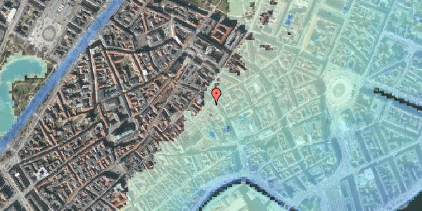 Stomflod og havvand på Valkendorfsgade 3, kl. , 1151 København K