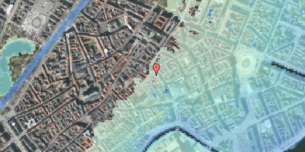 Stomflod og havvand på Valkendorfsgade 5, kl. , 1151 København K