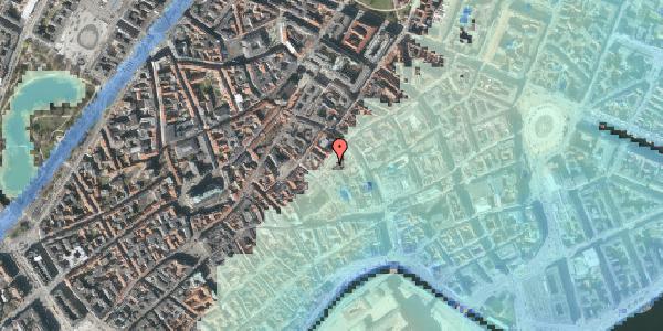 Stomflod og havvand på Valkendorfsgade 11, kl. , 1151 København K