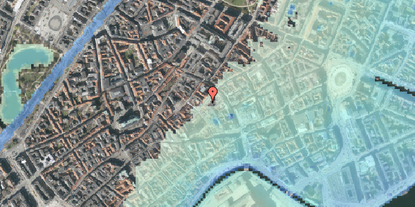 Stomflod og havvand på Valkendorfsgade 11, st. tv, 1151 København K