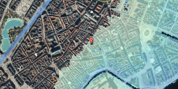 Stomflod og havvand på Valkendorfsgade 13, st. 1, 1151 København K