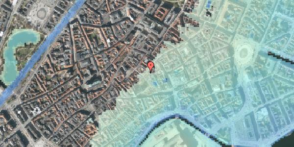 Stomflod og havvand på Valkendorfsgade 15, 1. , 1151 København K