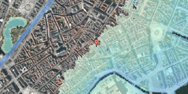 Stomflod og havvand på Valkendorfsgade 19, kl. , 1151 København K