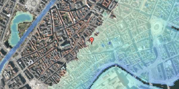Stomflod og havvand på Valkendorfsgade 22, 3. th, 1151 København K
