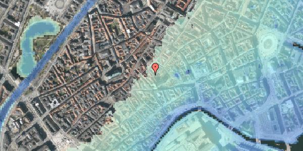 Stomflod og havvand på Valkendorfsgade 30, 3. , 1151 København K