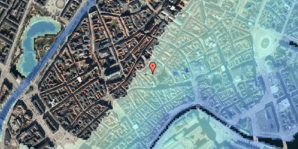 Stomflod og havvand på Valkendorfsgade 32, kl. , 1151 København K