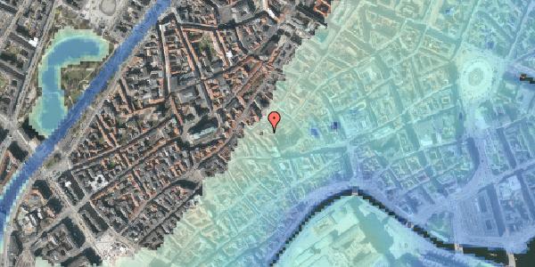 Stomflod og havvand på Valkendorfsgade 32, 1. tv, 1151 København K