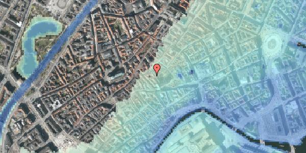 Stomflod og havvand på Valkendorfsgade 32, 3. tv, 1151 København K