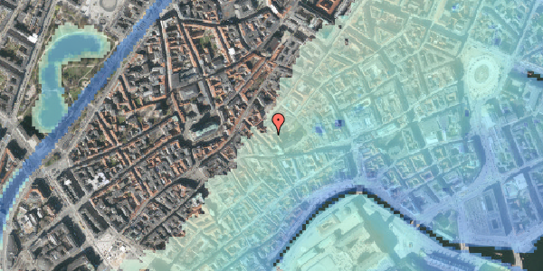 Stomflod og havvand på Valkendorfsgade 34, st. , 1151 København K
