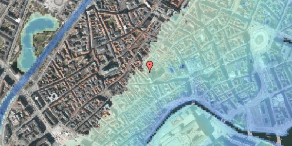 Stomflod og havvand på Valkendorfsgade 34, 1. tv, 1151 København K
