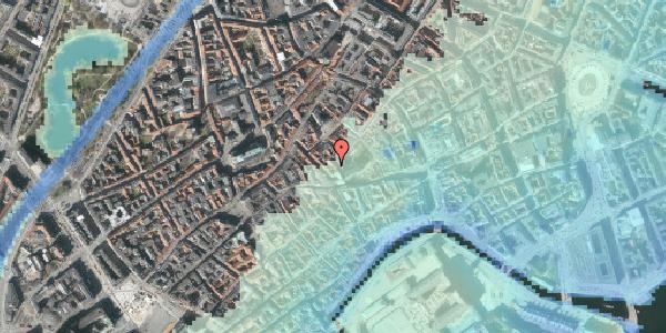 Stomflod og havvand på Valkendorfsgade 36, kl. , 1151 København K