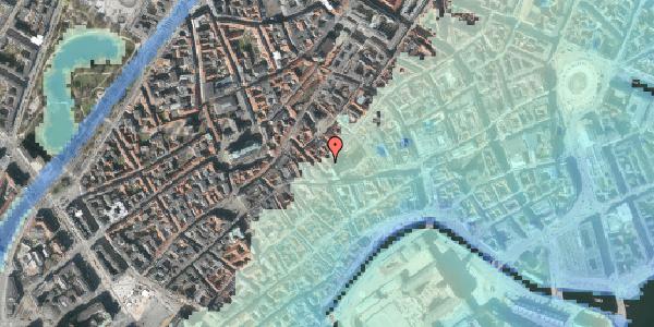 Stomflod og havvand på Valkendorfsgade 36, 1. , 1151 København K