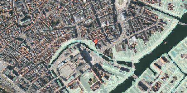 Stomflod og havvand på Ved Stranden 8, kl. , 1061 København K