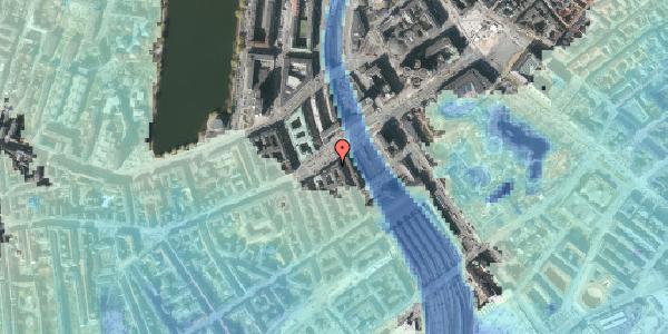 Stomflod og havvand på Vesterbrogade 9A, 1620 København V