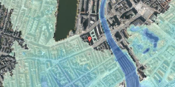 Stomflod og havvand på Vesterbrogade 14A, 2. , 1620 København V