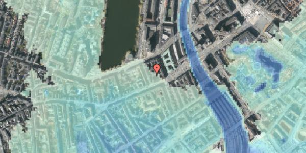 Stomflod og havvand på Vesterbrogade 14B, 4. th, 1620 København V