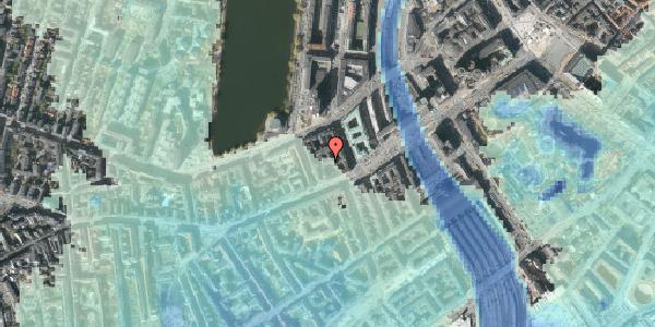 Stomflod og havvand på Vesterbrogade 14, 3. tv, 1620 København V