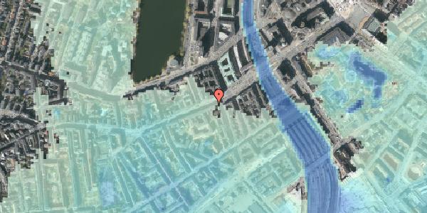 Stomflod og havvand på Vesterbrogade 15, 2. , 1620 København V