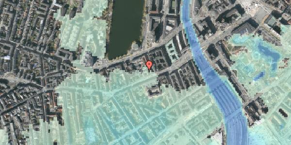 Stomflod og havvand på Vesterbrogade 20A, 4. th, 1620 København V
