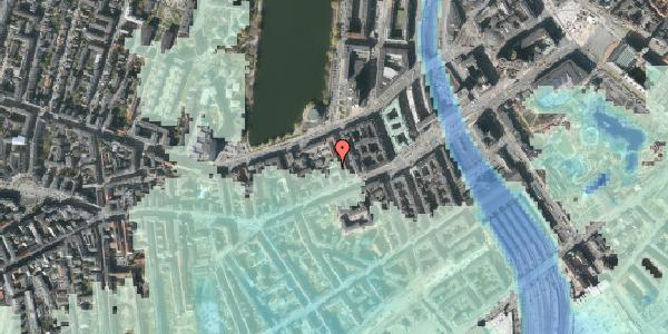 Stomflod og havvand på Vesterbrogade 20C, 1. tv, 1620 København V