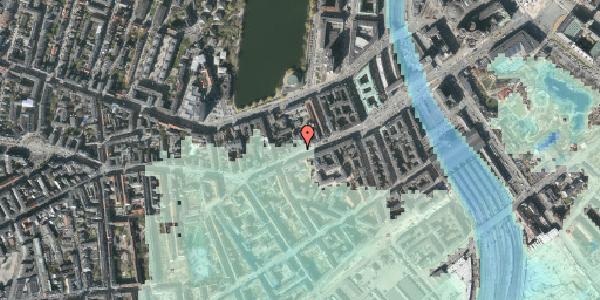 Stomflod og havvand på Vesterbrogade 24, 3. tv, 1620 København V