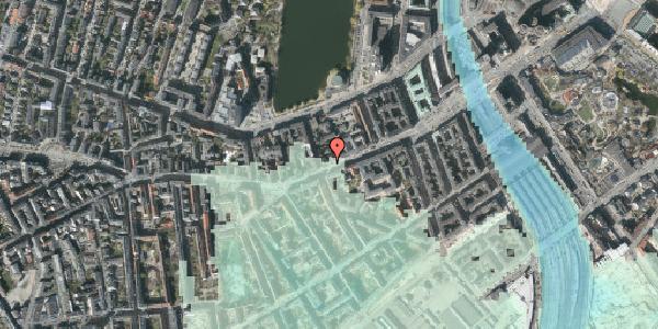 Stomflod og havvand på Vesterbrogade 28, 3. th, 1620 København V
