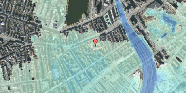 Stomflod og havvand på Vesterbrogade 29A, 1. tv, 1620 København V