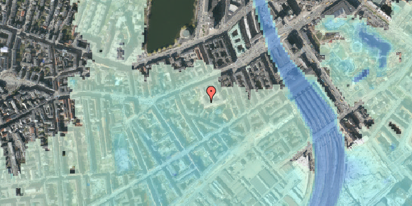 Stomflod og havvand på Vesterbrogade 29B, 2. th, 1620 København V