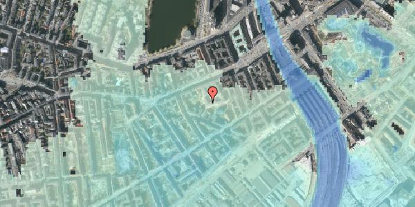 Stomflod og havvand på Vesterbrogade 29B, 4. th, 1620 København V