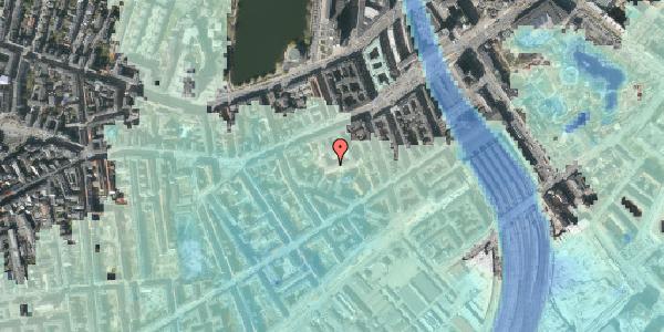 Stomflod og havvand på Vesterbrogade 29C, 1. th, 1620 København V
