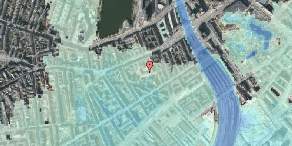 Stomflod og havvand på Vesterbrogade 29D, 1. th, 1620 København V