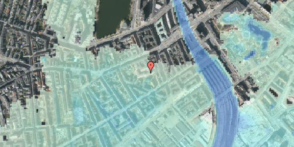 Stomflod og havvand på Vesterbrogade 29E, 2. th, 1620 København V