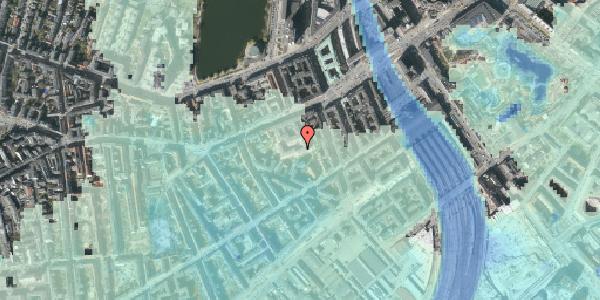 Stomflod og havvand på Vesterbrogade 29E, 3. th, 1620 København V