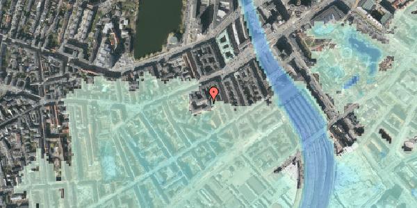 Stomflod og havvand på Vesterbrogade 29H, 3. tv, 1620 København V