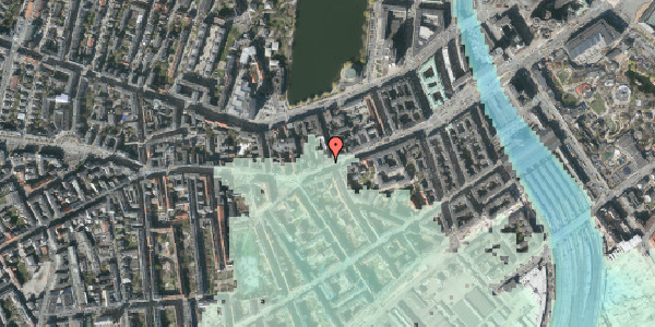 Stomflod og havvand på Vesterbrogade 30, 1. , 1620 København V