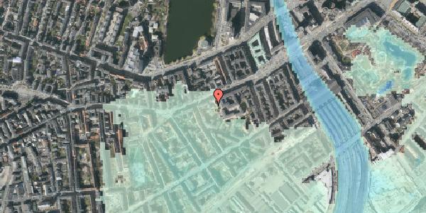 Stomflod og havvand på Vesterbrogade 33A, 1. , 1620 København V